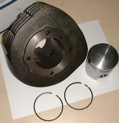 Zylindersatz Original 218ccm für Ape TM