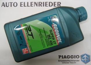 1 Liter - 2 Takt Öl Teilsyntetisch