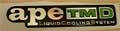 APE TM D - Emblem