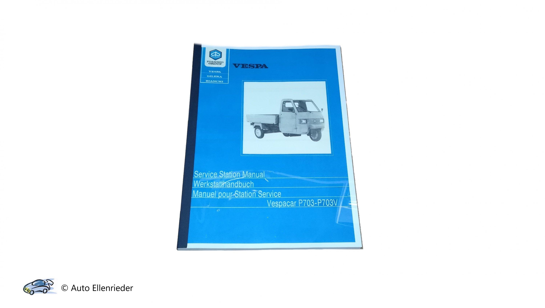 Werkstatthandbuch Ape TM Benzin