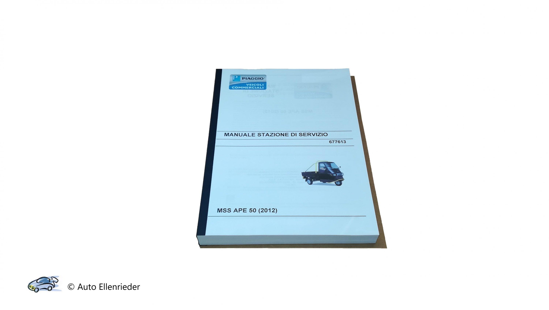 Werkstatthandbuch Ape 50